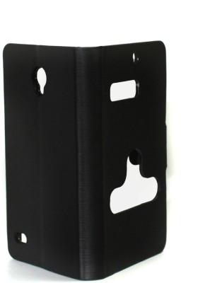 Caso Flip Cover for Karbonn S1 Titanium Black available at Flipkart for Rs.249
