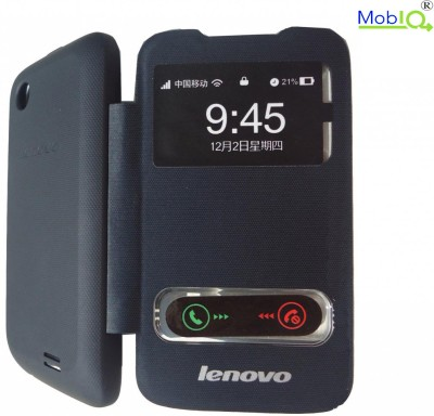 MobIQ Flip Cover for Lenovo 369 Flip Cover