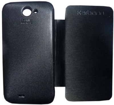 Brawnie Flip Cover for Karbonn A50 Black available at Flipkart for Rs.249