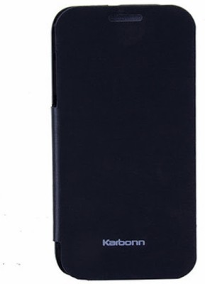 G4U Flip Cover for Karbonn A50 Black available at Flipkart for Rs.242