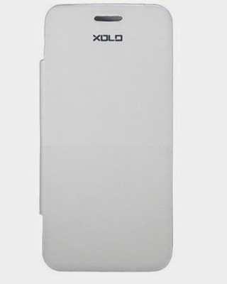 G4U Flip Cover for Xolo 500s White