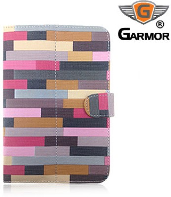 Garmor Flip Cover for Lava Z7C+ (Connect +) Tablet
