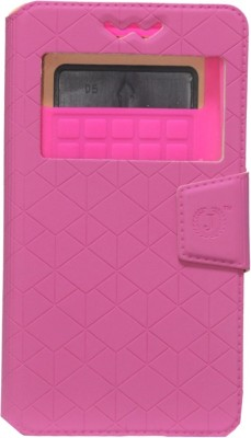 Jojo Flip Cover for Spice Coolpad 2 Mi 496 available at Flipkart for Rs.590