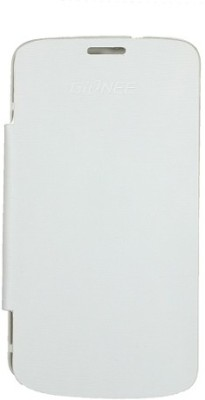 Casotec Flip Cover for Gionee Pioneer P3 White available at Flipkart for Rs.229