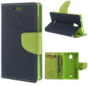 Style Cover Flip Cover For Samsung Galaxy J5 Green Cover MERCURY Fancy Leather Wallet Flip Stand Case - Copy (Green)
