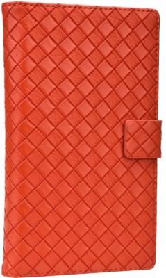 Jojo Flip Cover for Karbonn S1 Titanium Orange available at Flipkart for Rs.690