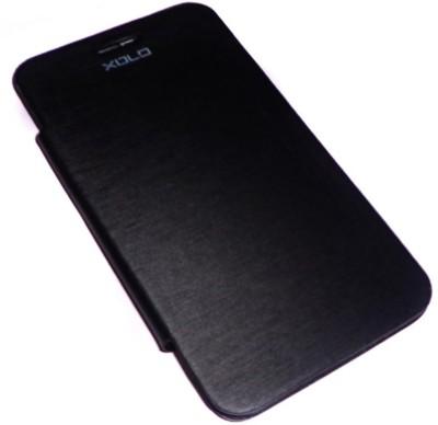 Brawnie Flip Cover for Xolo Q900 Black available at Flipkart for Rs.249