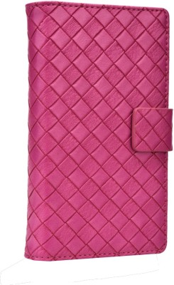 Jojo Flip Cover for Lenovo A390 Hot Pink available at Flipkart for Rs.690