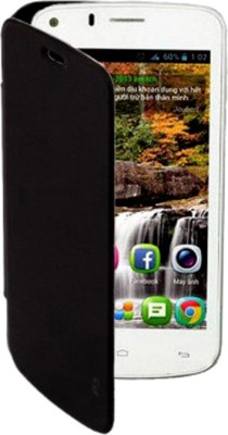 Skyy Flip Cover for Gionee Pioneer P3 Black available at Flipkart for Rs.199