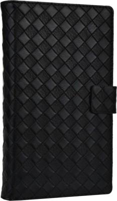 Jojo Flip Cover for Spice Stellar Horizon Mi 500 Black available at Flipkart for Rs.690