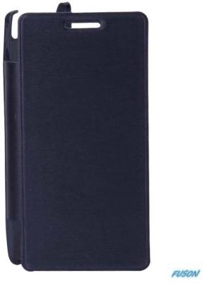 Fuson Flip Cover for Xolo Q900 Black available at Flipkart for Rs.299