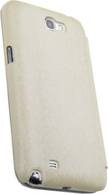 Rock Flip Cover for Samsung Galaxy Note 2 Light Cream available at Flipkart for Rs.99