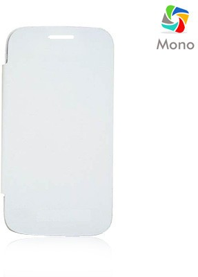 Mono Flip Cover for Micromax A116 Canvas HD White