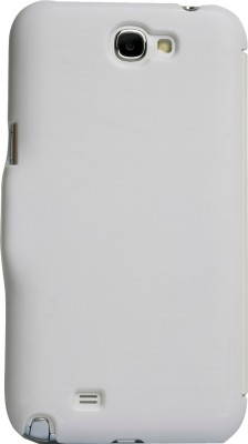 iAccy Flip Cover for Samsung Galaxy Note 2 White available at Flipkart for Rs.99