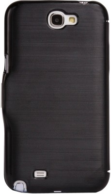 iAccy Flip Cover for Samsung Galaxy Note 2 Black available at Flipkart for Rs.79