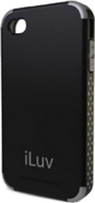 iLuv Back Cover for iPhone 4 / 4S Black