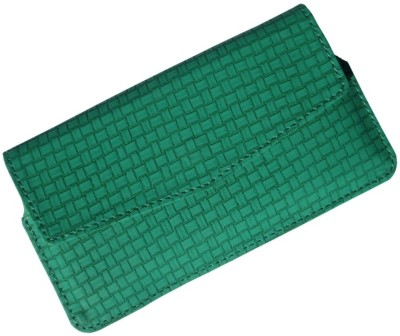 i-KitPit Pouch for Lenovo A850 Green