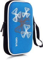 GIZGA Pouch For GIZGA Branded 2.5 Inch Wavy Graffiti Series - Color: Sky Blue; External Portable Hard Disk Drive Carry Cover Protector/ Pouch / Bag/ HDD Case (Sky Blue)