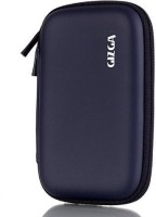 Gizga Pouch For GIZGA Branded 2.5 Inch HARD SHELL - Color: Dark Blue; Series External Portable Hard Disk Drive Carry Cover Protector/ Pouch / Bag/ HDD Case (Dark Blue)