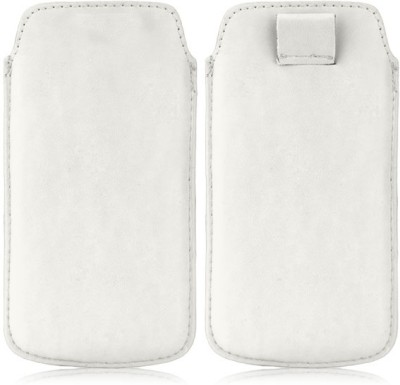 Wow Pouch for Huawei Ascend Y200 White
