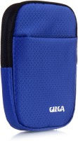 GIZGA Pouch For GIZGA Branded 2.5 Inch Soft Foam Jacket Pouch - Color: Navy Blue, External Portable Hard Disk Drive Carry Cover Protector/ Pouch / Bag/HDD Case (Navy Blue)