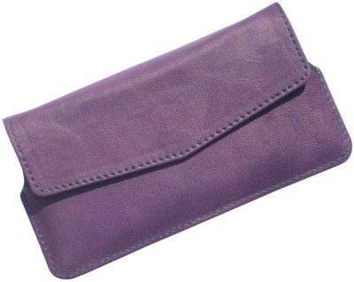 i-KitPit Pouch for Spice Coolpad 2 MI-496 Purple