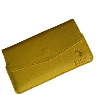i-KitPit Pouch for Huawei Ascend P1 Yellow