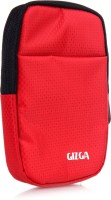 GIZGA Pouch For GIZGA Branded 2.5 Inch Soft Foam Jacket Pouch - Color: Red, External Portable Hard Disk Drive Carry Cover Protector/ Pouch / Bag/ HDD Case (Red)