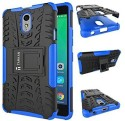 TARKAN Shock Proof Case For Lenovo Vibe P1m (Blue)