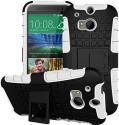 GVC Shock Proof Case For HTC One M8 (White)