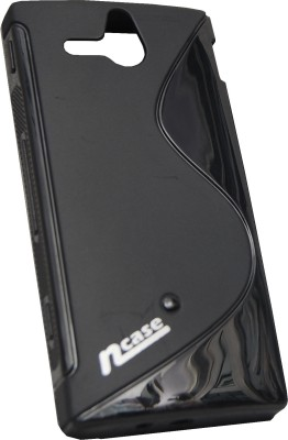 Buy nCase Back Cover for Sony ST25i Xperia U (Black): Cases Covers