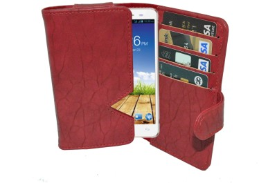 Totta Wallet Case Cover for Micromax Superfone A100 Canvas available at Flipkart for Rs.449