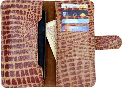 D.rD Wallet Case Cover for Lava iris 504Q available at Flipkart for Rs.599