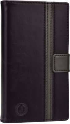 Jojo Wallet Case Cover for Lava Iris 504q available at Flipkart for Rs.590