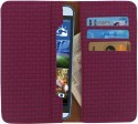 D.rD Wallet Case Cover for Lava Iris Pro 30 (Maroon)