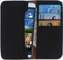 D.rD Wallet Case Cover for Micromax Canvas Viva A72 (Black)