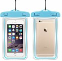 Safeseed Water Proof Case For For All Cell Phone Dimentions Upto 160x80 Mm Iphone 4S 5 5S 5C 6 6S 6+ 6S+ Samsung HTC SONY LG LENOVO (Sky Blue)