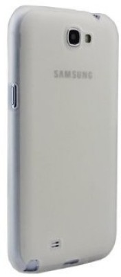 Callmate Back Cover for Samsung Galaxy Note 2 White available at Flipkart for Rs.49