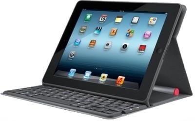 Logitech 920-004172 Solar Keyboard Folio Case for iPad 2