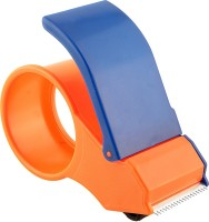 Dragon Single Sided Large Large Handheld Tape Dispenser (Manual) (Set Of 1, Orange / Blue)