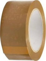Astha Tapes Sticky Single Sided Large Large Handheld Tape (Manual) (Set Of 6, Brown)