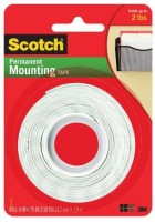 3M Office Products Double Sided Medium Small Handheld Mounting Tape (Manual) (Set Of 1, White) - CTDEH8PSH9F8CWSH