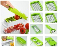 Globalepartner Nicer-Dicer-slicer Chopper (Green)