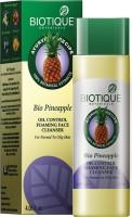 Biotique Bio Pineapple Fresh Foaming Cleansing Gel For Normal To Oily Skin 120 Ml (120 Ml)