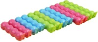 AND Retails Food Bag Seals Large Plastic Clips (Set Of 12, Multicolor)
