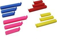 Inddus Airtight Large Plastic Bag Clip (Set Of 36, Multicolor)