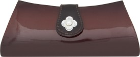 Deeon Formal Brown Non Leather  Clutch