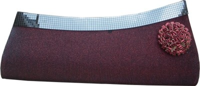 Spice Art Women Casual Red Leatherette Clutch available at Flipkart for Rs.945