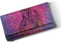 Mad(e) In India Lady With A Sitar Women's  Clutch - Multicolor