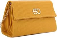 E2O Women Yellow PU  Clutch